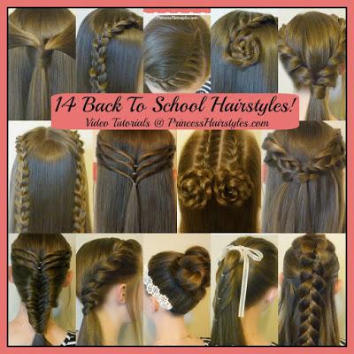 46867 14 Easy Hairstyles For School Compilation! 2 Weeks Of Heatless Hair Tutorials