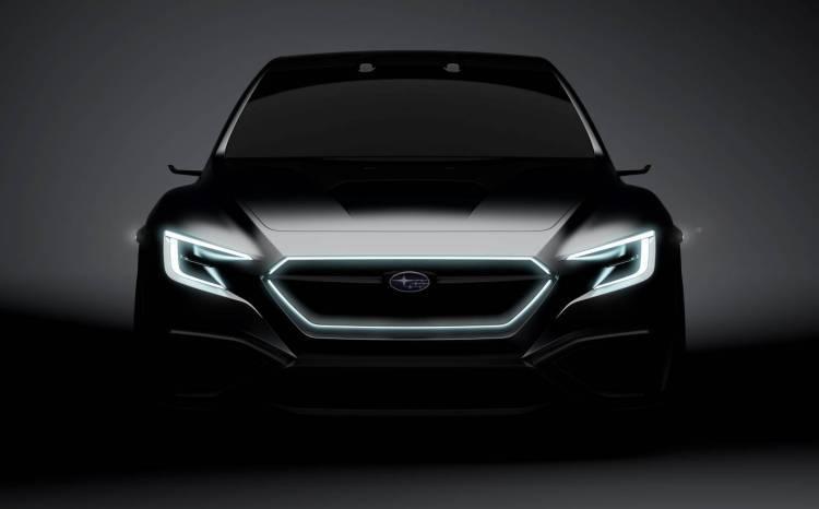When waiting for the premiere of Subaru Viziv?