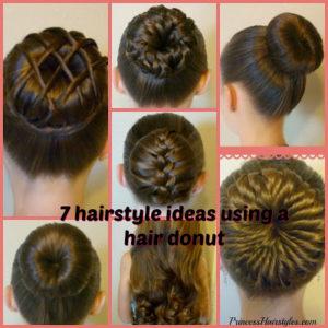 50680 7 Ways To Make A Bun Using A Hair Donut!