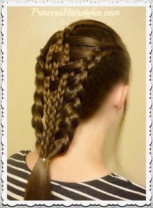 73031 Checkerboard Dutch Braids Hairstyle Tutorial. Easier Than It Looks!