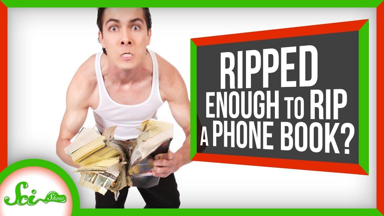 79538 Can You Rip a Phone Book in Half?