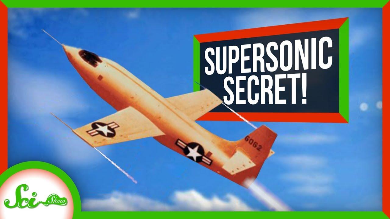 79937 A Surprisingly Simple Secret to Supersonic Flight