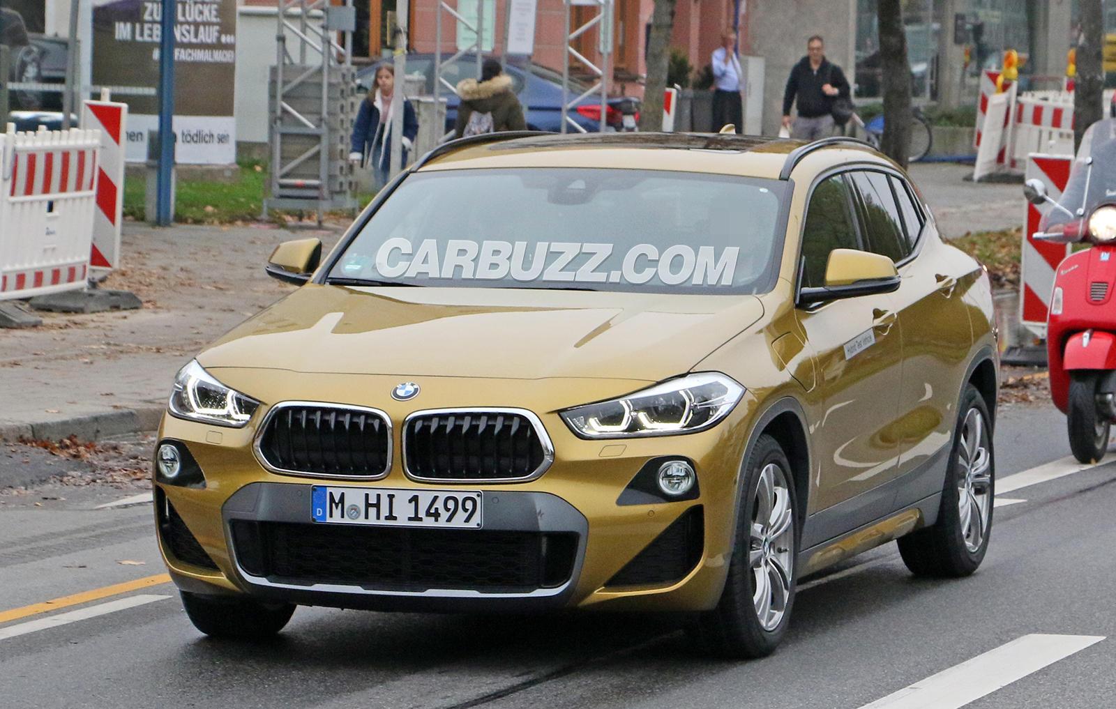83047 BMW X2 Prototype Hides Big Secret