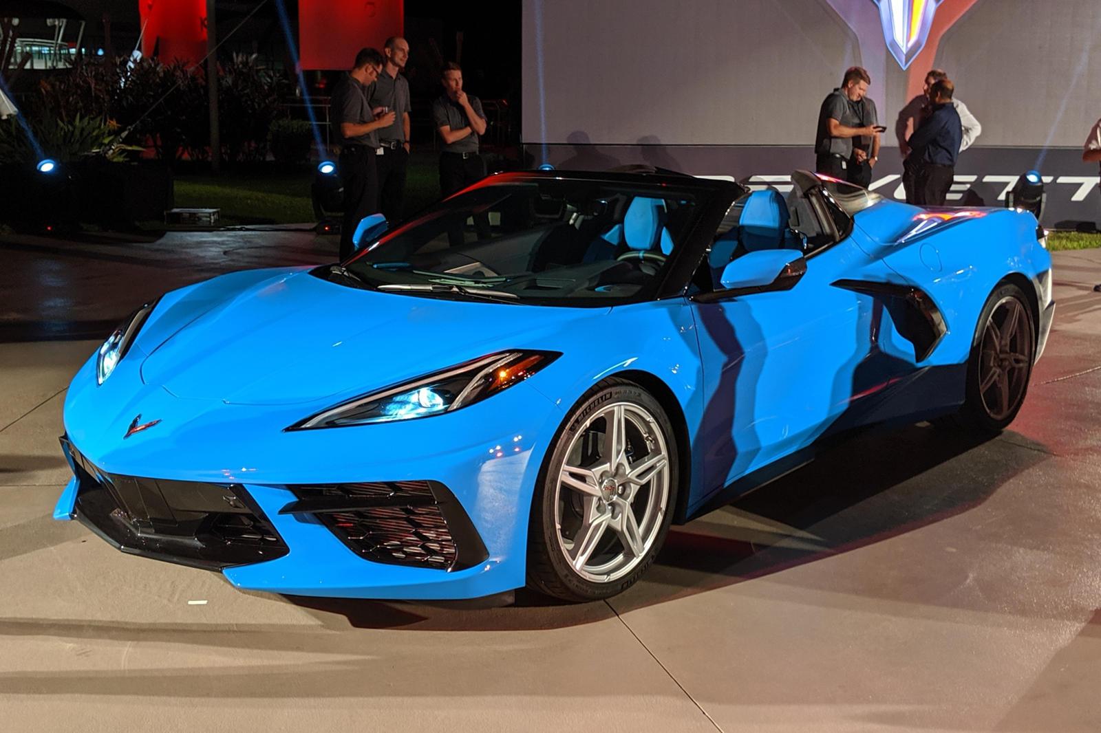 87007 Good News! Corvette Convertible Won't Skip 2020 After All