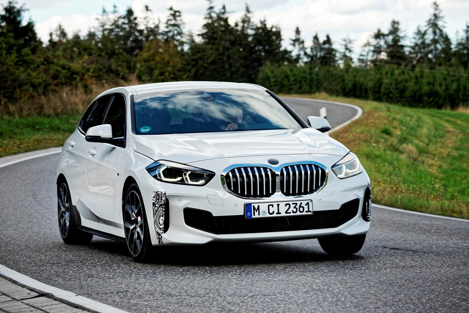 90167 BMW's Golf GTI Rival Takes Shape