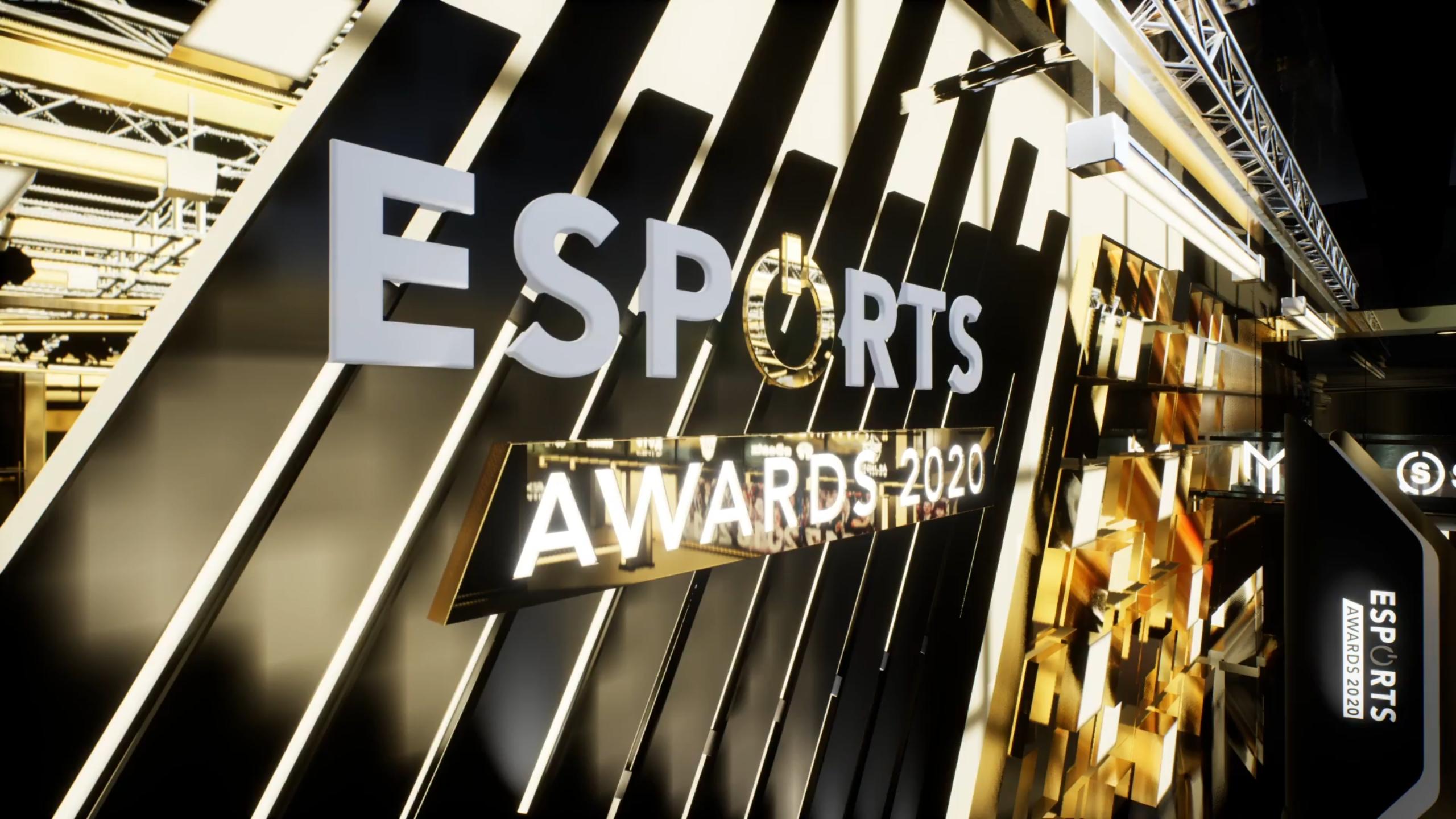 "91880 2020 Esports Awards Honors Riot Games, Team Secret, Michal ""Nisha"" Jankowski"