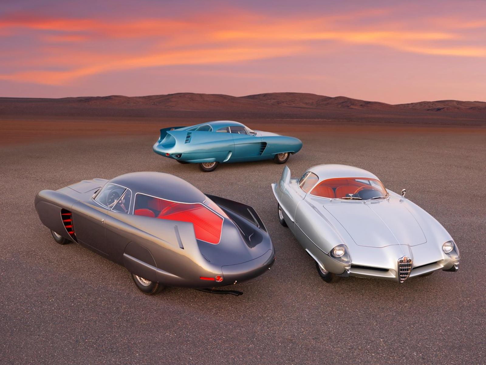 91452 Legendary Alfa Romeo Concept Cars Sell For $14.8 Million