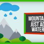 93804 How Rain Might Make Mountains Grow
