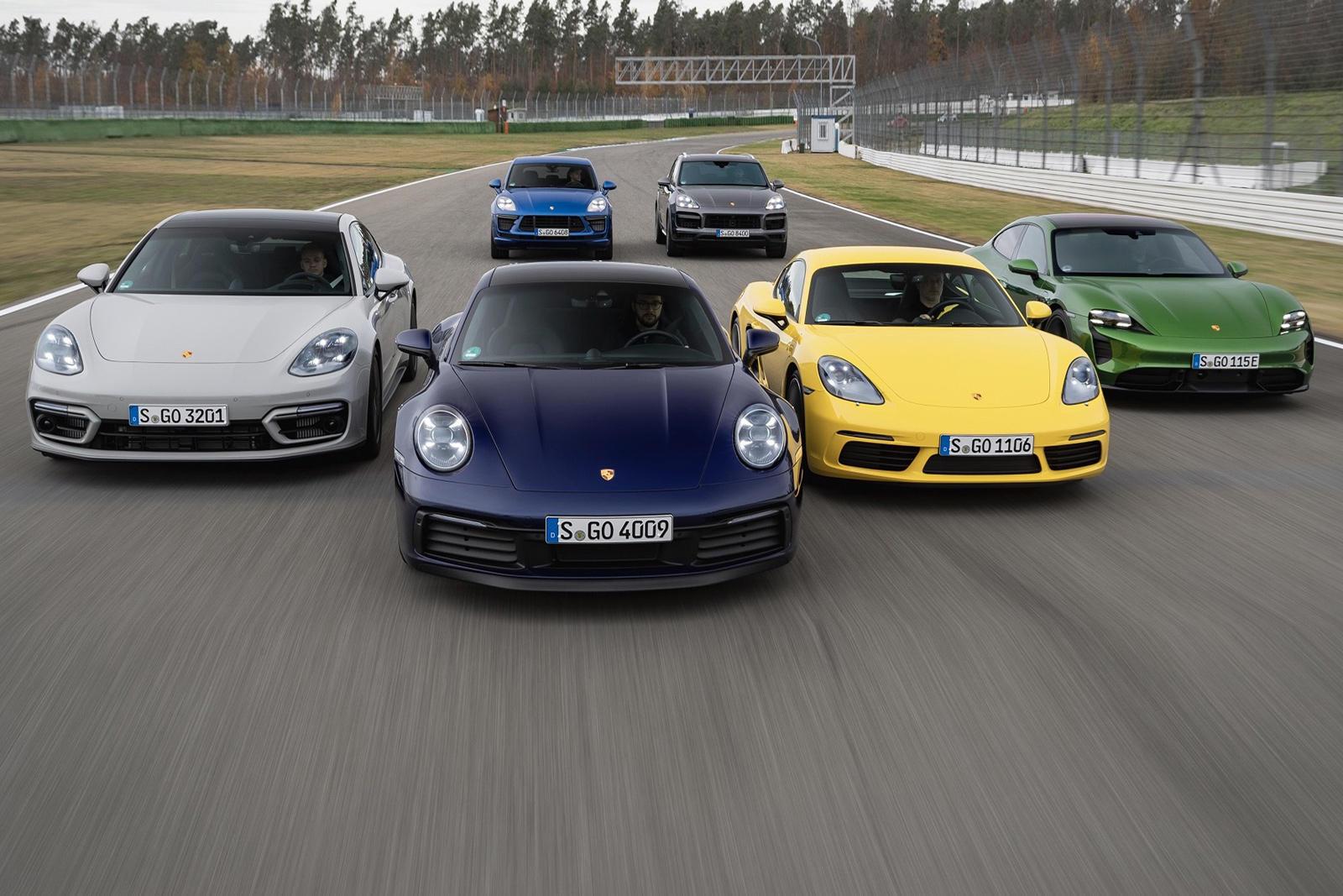 93393 Porsche's 2020 Global Sales Were Outstanding