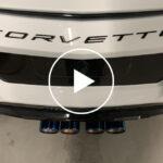 94529 Center-Exit Exhausts Give C8 Corvette A Retro Look