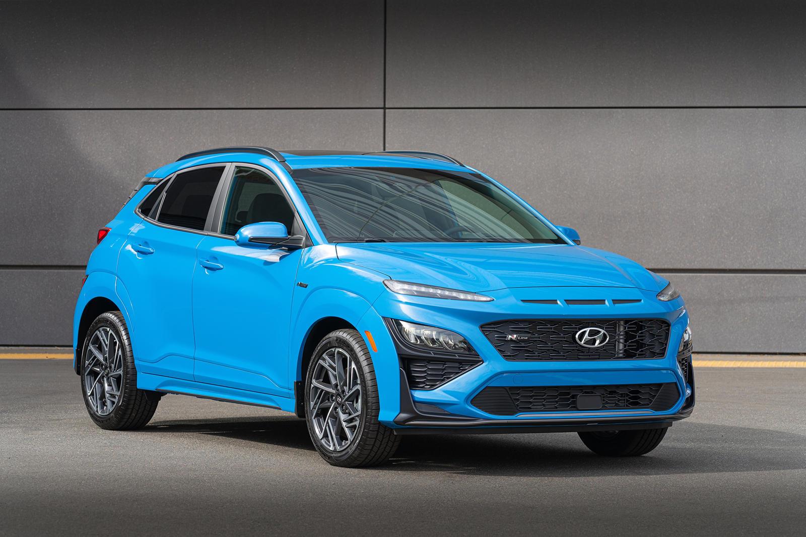 94348 Hyundai Updates Kona and Kona Electric For 2022