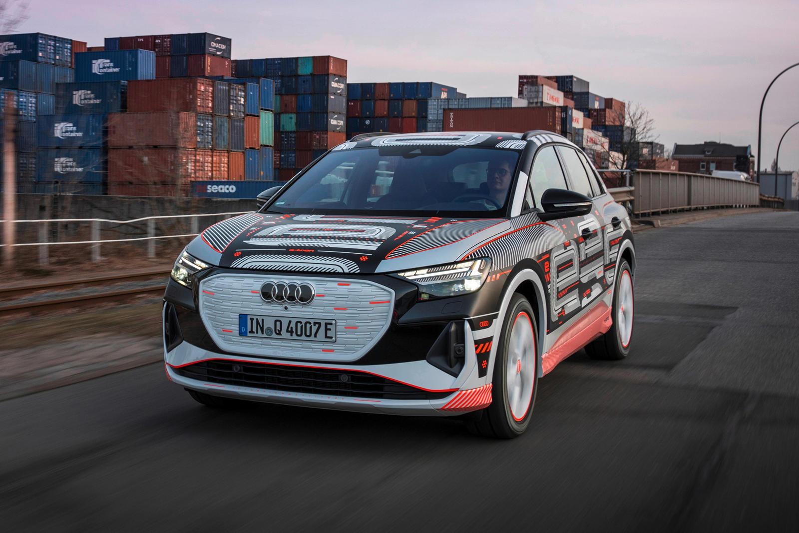 94987 Audi Teases Q4 e-tron's AR Head-Up Display And Lavish Cabin