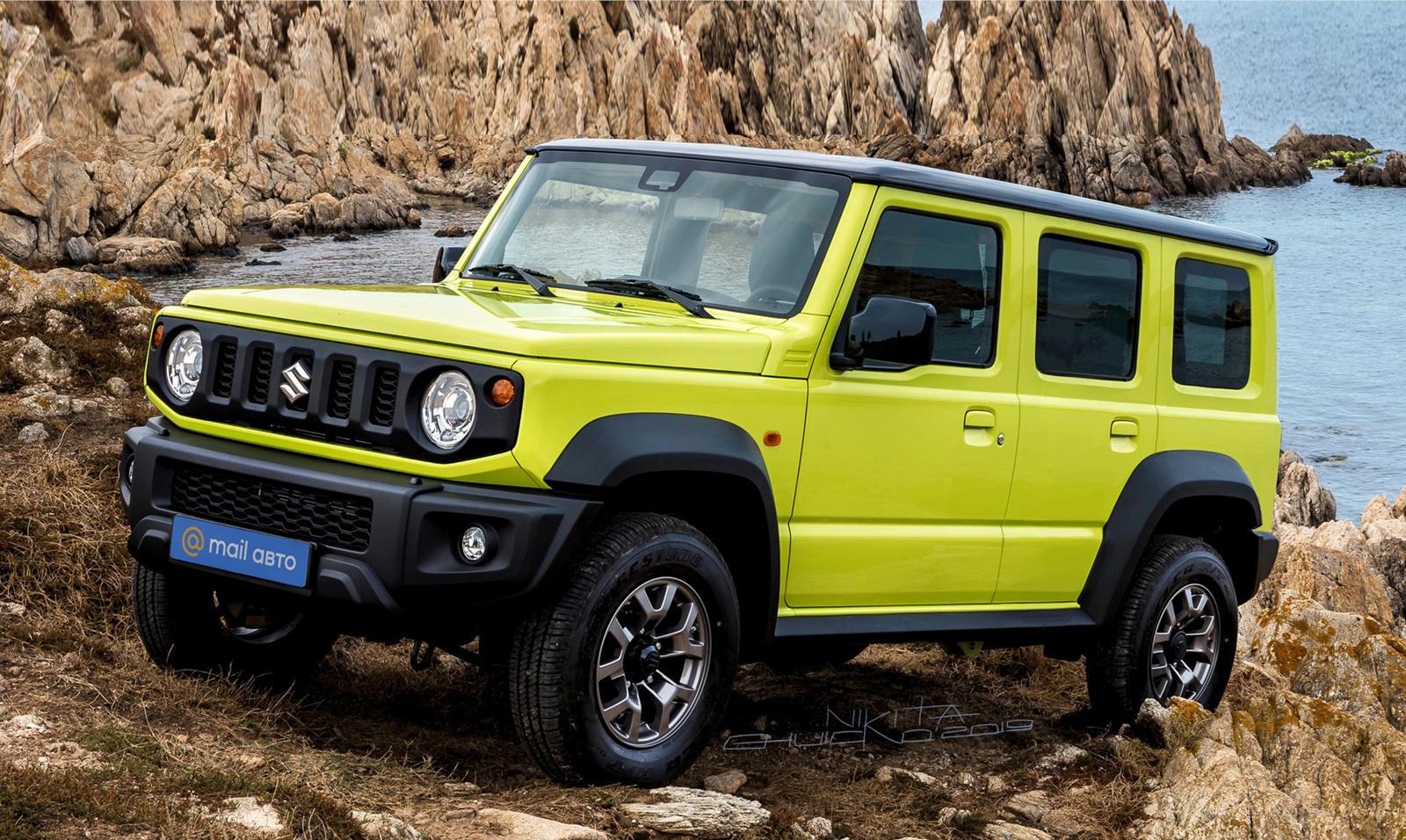 95591 Suzuki Has Great News About The Jimny