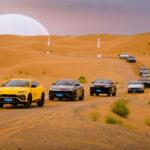 95856 42 Lamborghinis Enjoy 500-Mile Desert Odyssey