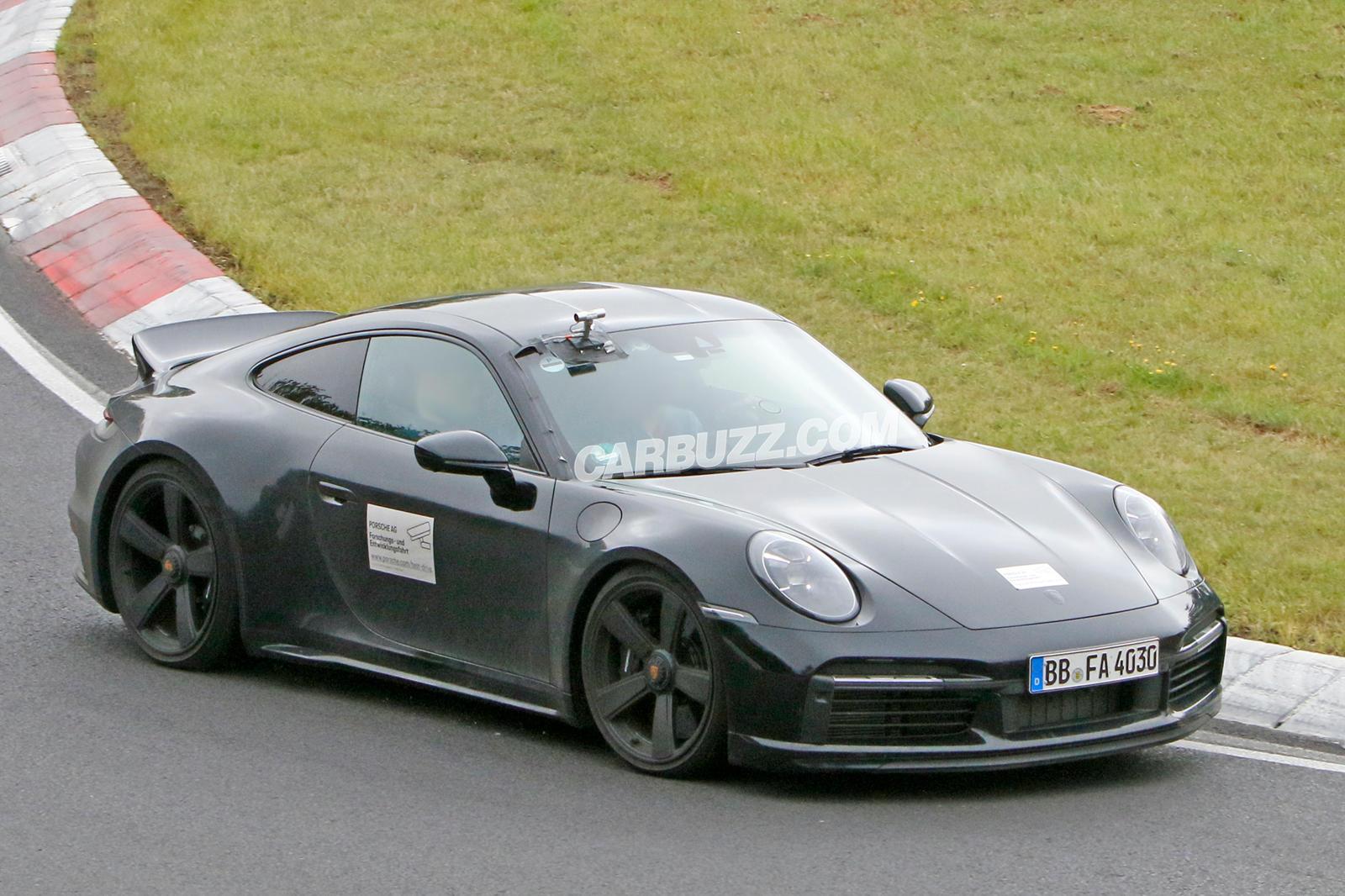 95939 Special Porsche 911 Sport Classic Spied With Unique Details