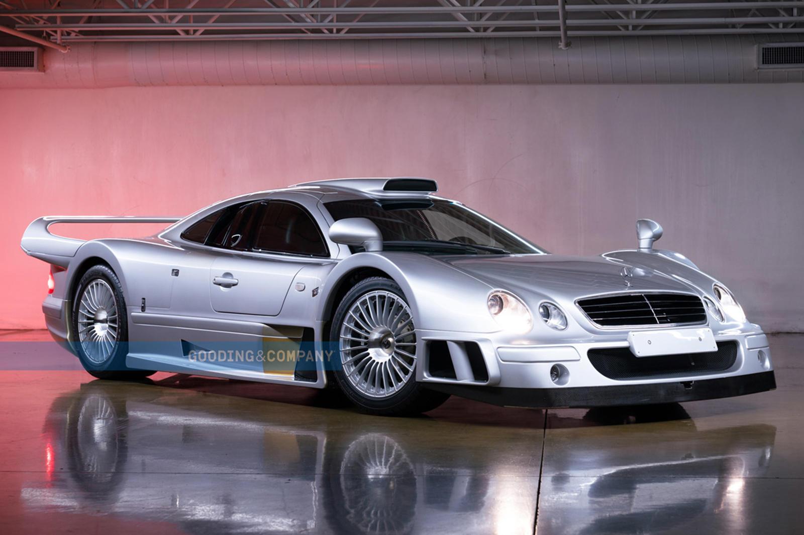 95912 Super Rare Road-Legal Mercedes-Benz AMG CLK GTR Is A $10 Million Bargain