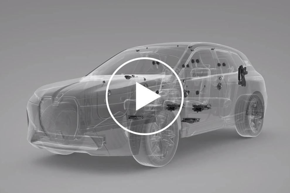 95984 BMW iX Shows Off Its Amazing 30-Speaker Audio System