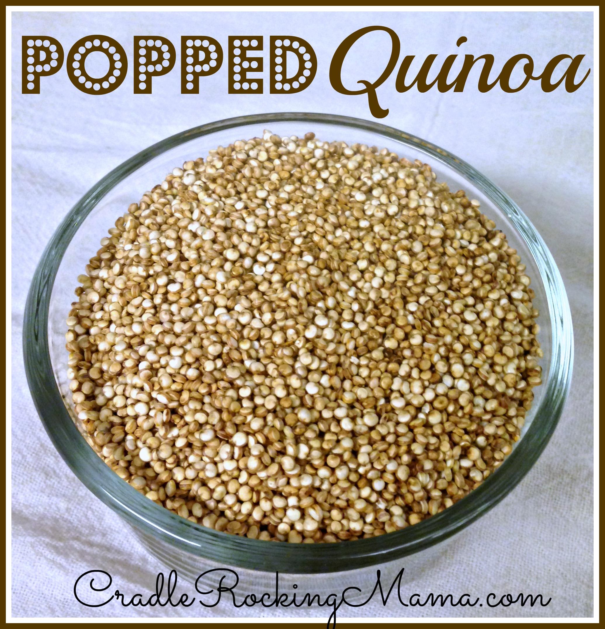 95963 Why Don't We Eat Pop-Quinoa?