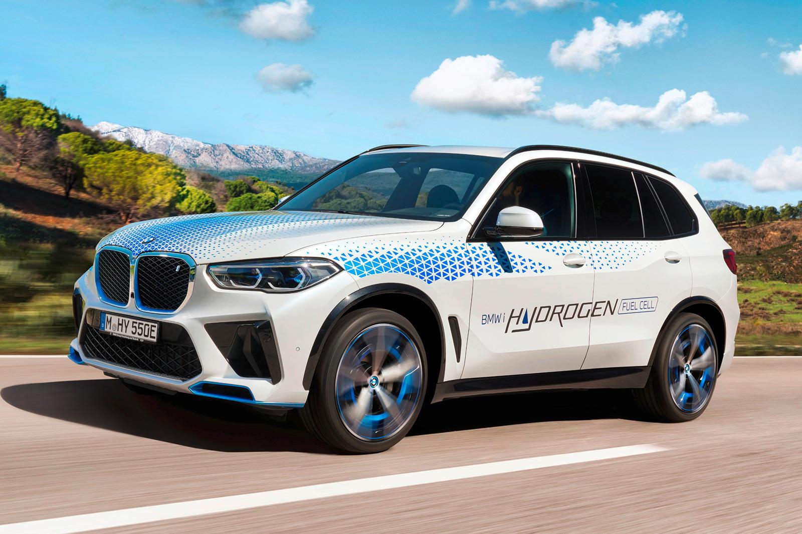 96053 You Can Test Drive The BMW iX5 Hydrogen In Munich
