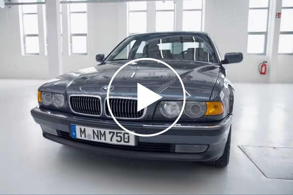 96215 BMW Classic Explains The Magnificent E38 750iL