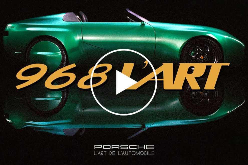 96318 One-Of-A-Kind Porsche 968 L'Art Celebrates 30 Years Since The Original