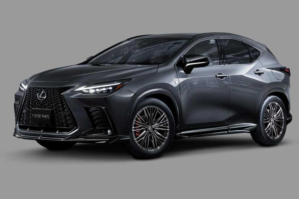 96414 2022 Lexus NX Gets Major New Attitude