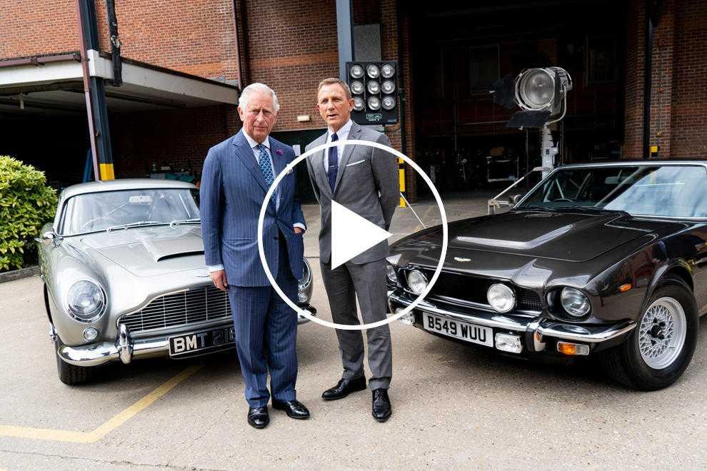 96442 Prince Charles' Aston Martin Runs On Wine And Cheese